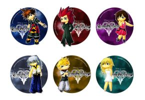 Kingdom Hearts Tributes by Thiefoworld