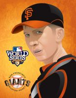 BUSTER POSEY World Series 2010 by JFulgencio