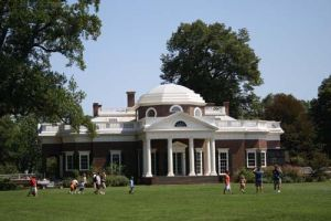 Monticello West Lawn by babygirl38