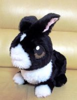 Bunny Plush by d215lab