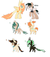 Saine and Bird foals {closed} by Ivon-Cheetah