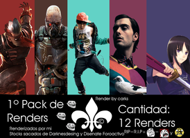 Pack de Render 01 by carks by ThEiSmAsTeRs