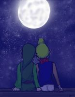 Will You Watch the Stars with Me? by LinZeldorf