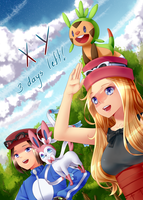 Pokemon XY by valiryn