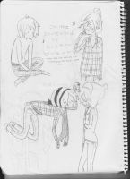 Marshall Lee and Joann. by Marysmelody
