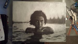 Girl in water by thunderdogs