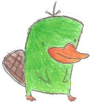 Perry the Platypus by Kornasaur