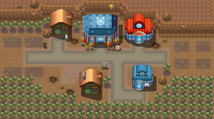 Fallabor town remake by Pokemon-Diamond