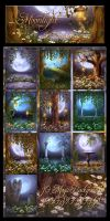 Moonlight Romance backgrounds by moonchild-ljilja