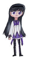 Homura Akemi by the-original-unicorn