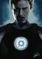 Tony Stark by Amaterasuscorp1