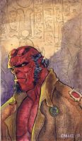 Hellboy by humblestudent