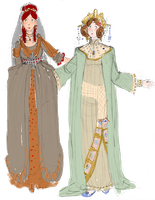 Two Ancients - colored by BellaCielo