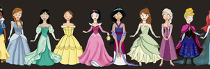 Disney Princess Outfit Switch by Glitzerland