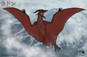 Infinity Rodan by BloodDragon3000