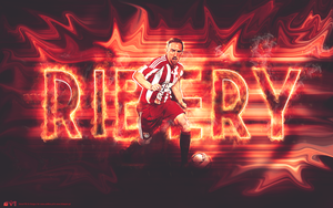 Frank Ribery Wallpaper Collab by SimonT95
