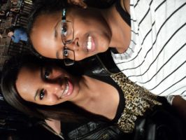 my sister and i went to see Kevin Hart! 6 by heaven101fosho