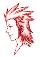 Axel Sketch by rose-star