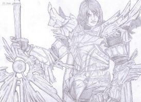 Siegfried Schtauffen: Soul Calibur IV by AxeMan5