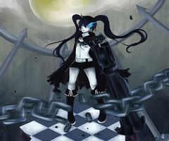 Black Rock Shooter by Jika-Jika