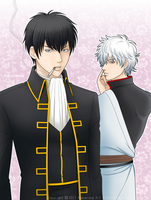 GINTAMA xx Toshi and Gin xx by Xhaowrong