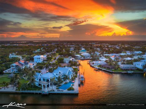 Paradise-Sunset-Tequesta-Florida-Waterfront-Proper by CaptainKimo