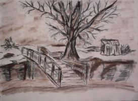 Landscape Sketch 1 by CpointSpoint