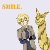 Who's smile is cuter? by Ospreyghost13