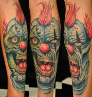 freehand clown by Robert-Franke