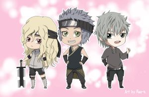 Chibi Team~ by Ruu-k