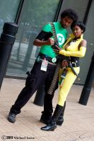 Green Lantern and Vixen 1 by Insane-Pencil