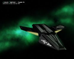 Scout Fighter - type B by kube