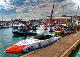 Cowes Harbour Scene 2 by Tangent101