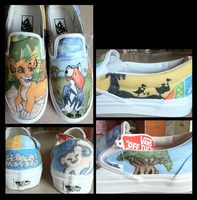 Lion King Shoes by Jarda-Potter