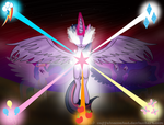 Twilight Sparkle's Ascension by CaffeineCoated