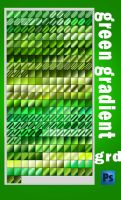 green gradient by roula33