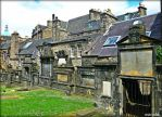 The Houses By The Cemetery by Estruda