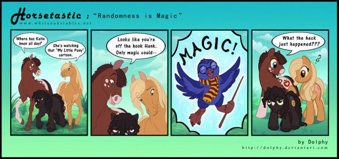 Horsetastic - Randomness is Magic by DolphyDolphiana