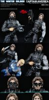 Custom Winter Soldier (Movie Style) Action Figure by MintConditionStudios
