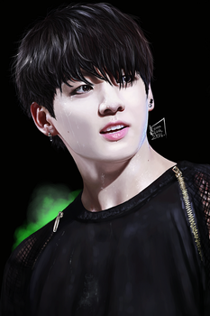 On stage: Jungkook by xCollecx