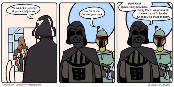 Boba Back-Up by CoinCollection