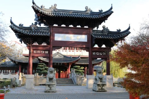 Chinese garden Stock 39 by Malleni-Stock