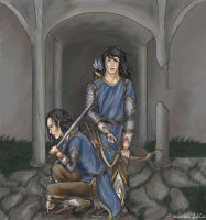The Sons of Elrond by icarus-falls