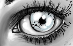 the glass eye by SunnyFire