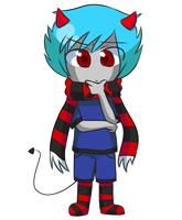 Chibi Commission for kawaiidoodles by pferty