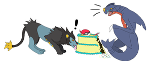 Let Them Eat Cake! by CloakedNobody