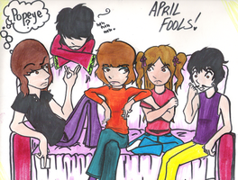 Pink Floyd - April Fools :D by electricsorbet