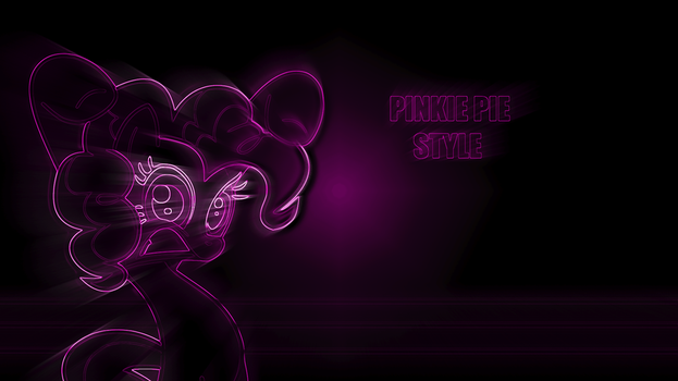 Pinkie Pie Style Wallpaper by agustins98