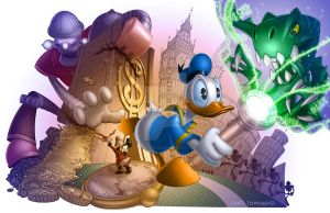 Donald Duck by ChadTHX1138