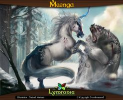 Moonga - Bear-Killing Unicorn by moonga
